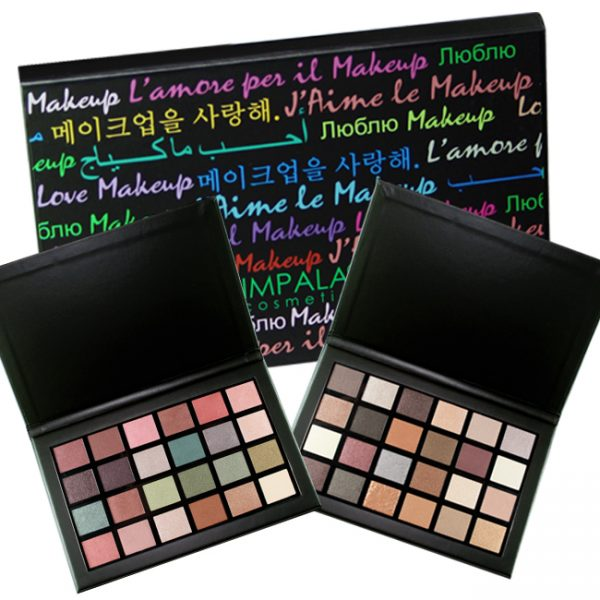 IMPALA Eyeshadow Palettes Love Makeup 24 colors